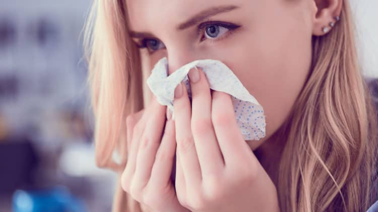 Can a Cold Cause Eye Discharge?